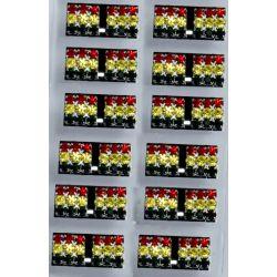 Гвоздики№63 цветные квадратики