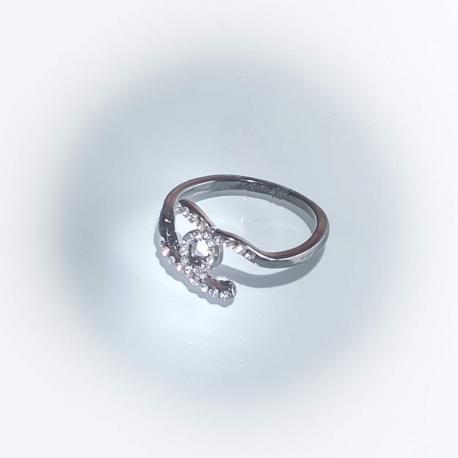 Кольцо со стразами №146