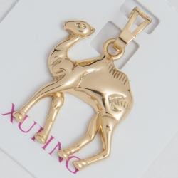 Кулон Xuping № 192 верблюд на металле под золото.