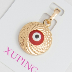Кулон Xuping № 196 металлический с узором.