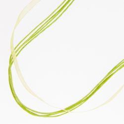 Подвеска№2226 оптом 50 см, ярко-зеленого цвета.