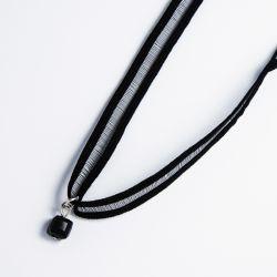 Чекер№2244 оптом с висюлькой черного цвета.