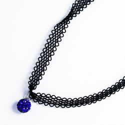 Чекер№2245 оптом с шариком синего цвета.