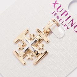 Кулон Xuping№823 оптом с крестиками двухцветный.