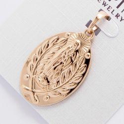Кулон Xuping№882 оптом под золото с рисунком.