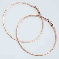 Серьги-кольца№1694 5.5 см цена за 12 шт оптом под золото.