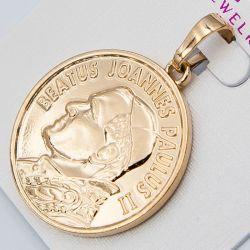 Кулон Xuping№984 оптом под золото с рисунком.