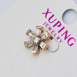 Кулон Xuping№1049 оптом в виде цветочка с цирконами.