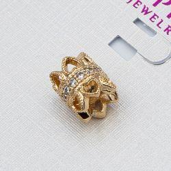Кулон Xuping№1052 оптом под золото с цирконами.