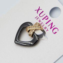 Кулон Xuping№1056 оптом сердечко черного цвета.