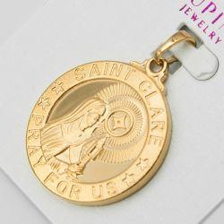Кулон Xuping№1072 оптом круглая ладанка под золото.