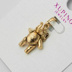 Кулон Xuping№1108 оптом слон в цвете под золото.