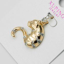 Кулон Xuping№1161 оптом кошка с цирконами.