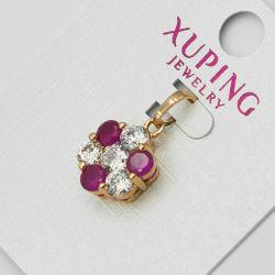 Кулон Xuping№1164 оптом с камнями двух цветов.