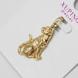 Кулон Xuping№1167 оптом кошка под золото.