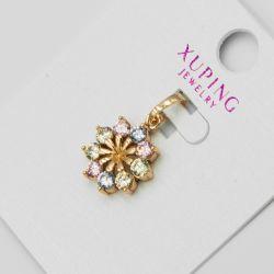 Кулон Xuping№1176 оптом цветок с цирконами.