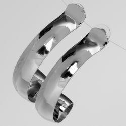 Серьги№2570 оптом под серебро оригинальный дизайн