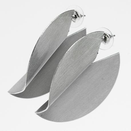 Серьги№2579 оптом оригинальные под серебро