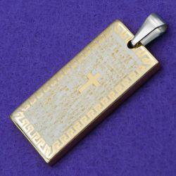 Кулон сталь№666 оригинальный кулон унисекс изделия из медзолота купить Украина