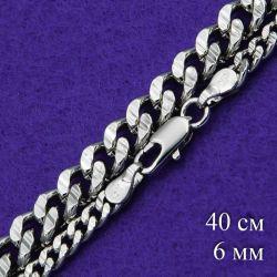 Цепочка Xuping№291 40см плотная звеньевая позолотка цепочки медицинское золото