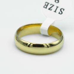 Кольцо Xuping сталь№90 обручальное под золото бижутерия Харьков оптом.