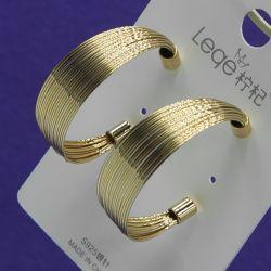 Серьги№2762 стильные под золото от производителя оптом.
