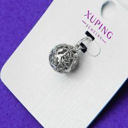 Кулон Xuping№141 оригинальный шар бижутерия Хьюпинг оптом.