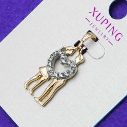 Кулон Xuping№149 с сердечком в интернет-магазине оптом.