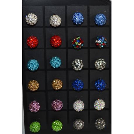 Гвоздики-шарики в камнях№57