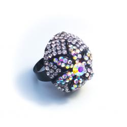 Кольцо с перламутровыми камнями№8