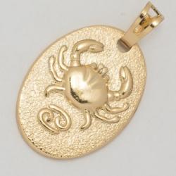 Кулон Xuping № 125 металл под золото со скорпионом.