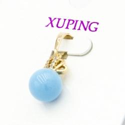 Кулон Xuping№245 с жемчужиной голубого цвета.